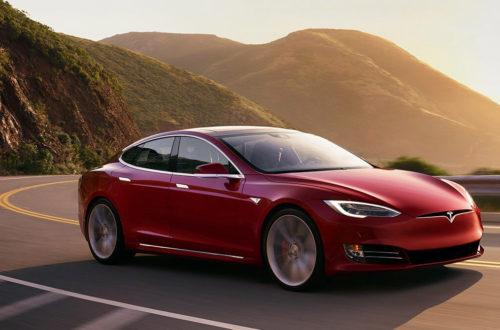 Tesla Model S Vehicle