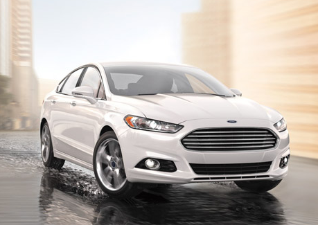 Ford Fusion Energi Vehicle