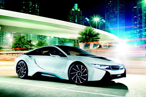 BMW i8 Vehicle