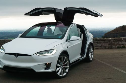 Tesla Model X Vehicle