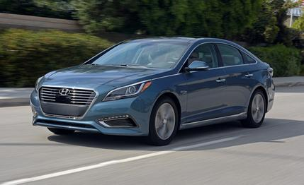 Hyundai Sonata Plug-in Hybrid Vehicle