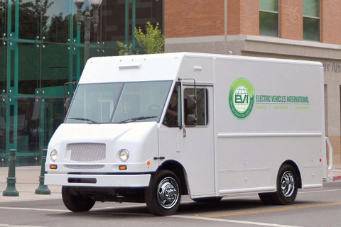 Electric Vehicles International – Walk-in Van Vehicle