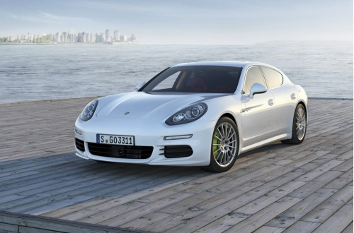 Porsche Panamera S E-Hybrid Vehicle