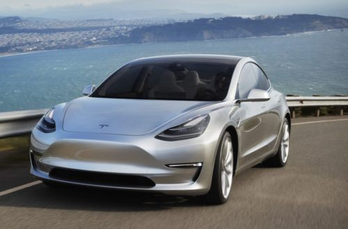 Tesla Model 3 Vehicle