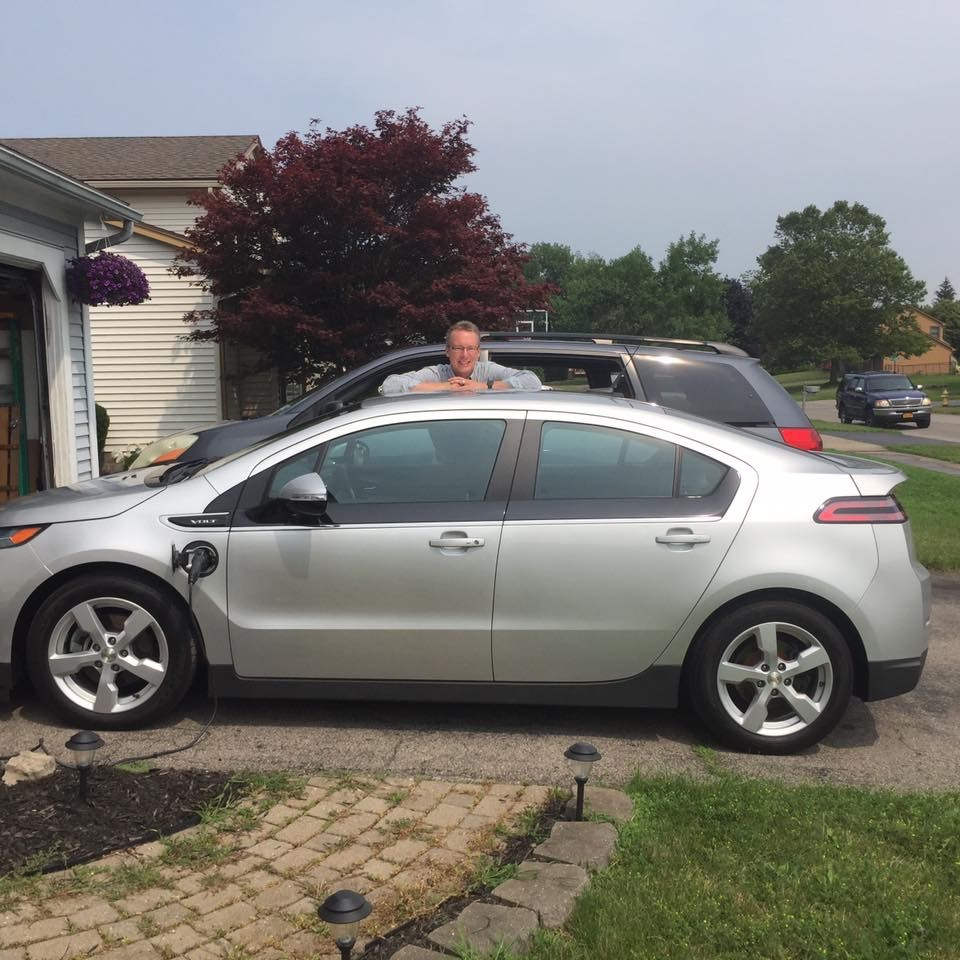 Ev Enthusiast Of The Month Rich Stein Rochester Accelerator Chevy Volt Gas I Own A 2014 That Is Extremely Fun To Drive Driving An Electric Car Great Experience And Different Feeling Than Powered